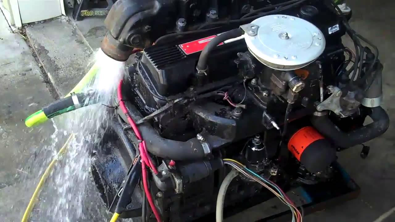 Mercruiser Starter Wiring Diagram Mercruiser 470 4 Cyl Motor For Sale 815 363 1254 Youtube