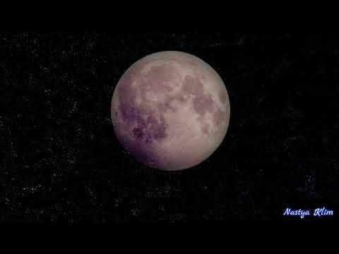 Тихая, усыпляющая музыка для сна и сеансов релаксации  Луна, Космос
