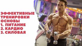 Кардио тренировка / Тренировка в тренажёрном зале / Сколько надо есть чтобы похудеть?