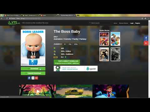 How To Stream Online or Download Directly Video Torrents, Fast And Quick. Urdu/Hindi