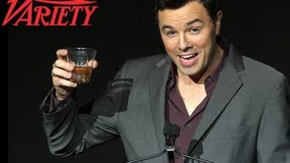 Seth MacFarlane Talks Cancer Awareness And Laughter: Variety Power of Comedy (2012)