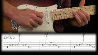 David Gilmour Licks Guitar Lesson: Childhood