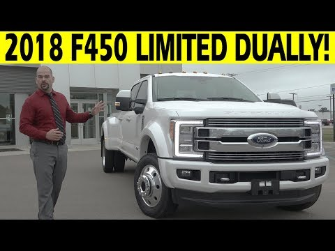 2018 Ford F450 Limited Dually Diesel 4x4 - FIRST LOOK
