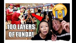 SINABIHAN AKONG PANGET?! WALKING IN PUBLIC WITH 100 LAYERS OF FOUNDATION!