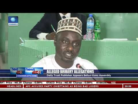 Alleged Bribery Allegations: Daily Trust Publisher Appears Before Kano Assembly