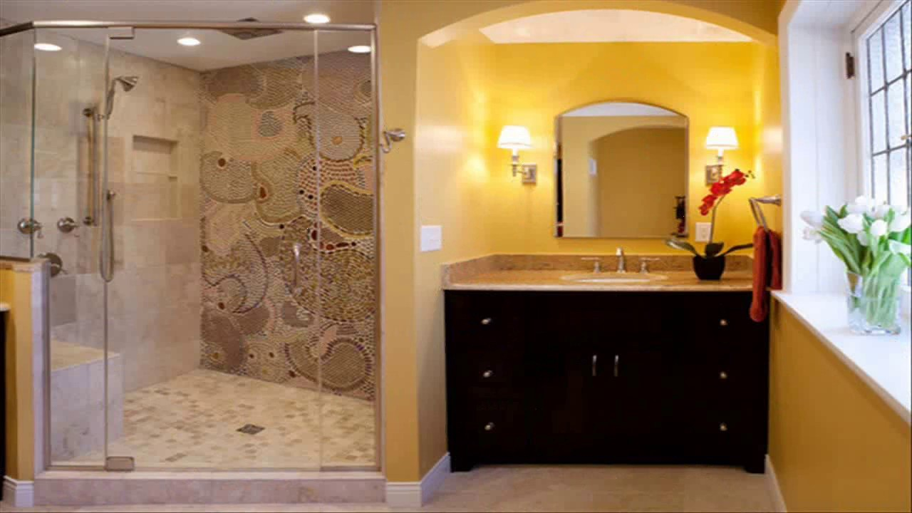 Standing Shower Bathroom Design - YouTube