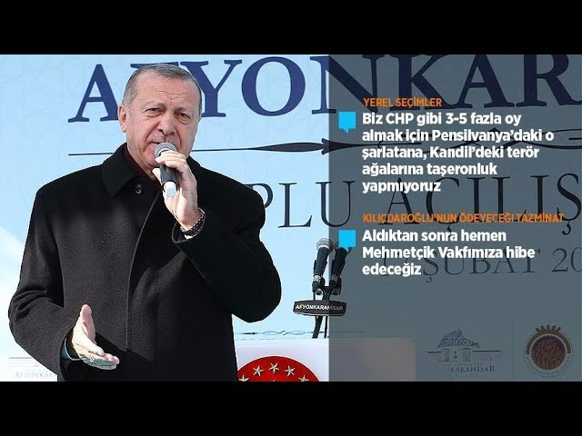 Cumhurbaşkanı Erdoğan: Terör ağalarına taşeronluk yapmıyoruz