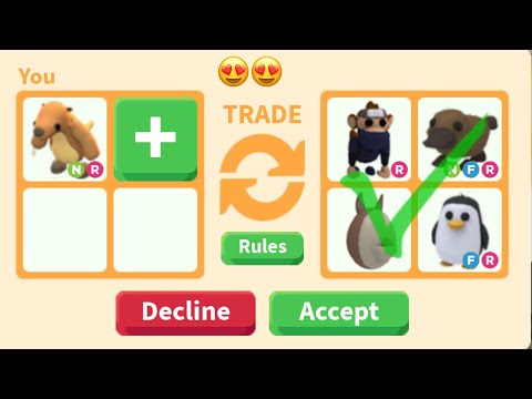 What People Trade For NEON GROUND SLOTH - Adopt Me Roblox