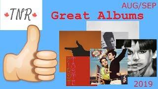 Album Recommendations: August & September 2019