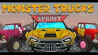 Monster Truck Sprint | Monster Truck Racing Games For Kids