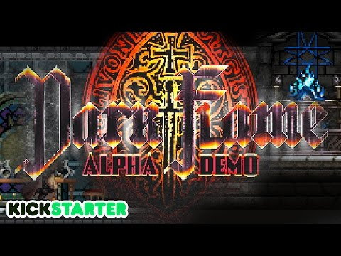 Dark Flame: Kickstarter Alpha - Darksouls meets Metroidvania (Chupacabra First Look)