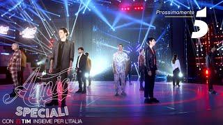 Amici Speciali con Tim insieme per l'Italia: SHOW MUST GO ON!