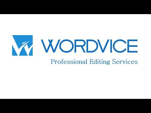 Wordvice Professional Editing Service from YouTube · Duration:  2 minutes 7 seconds