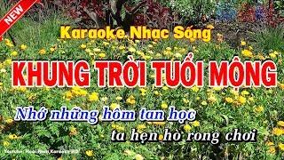 Karaoke Khung Trời Tuổi Mộng - Hoài Nam Karaoke HD