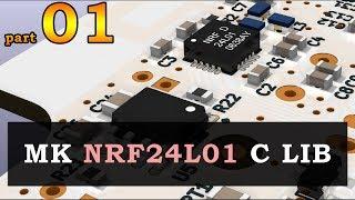 #0571 NRF24L01 + biblioteka C - part 01