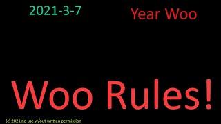 Woo Rules!