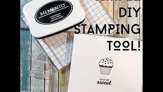 Simple DIY Stamping Tool