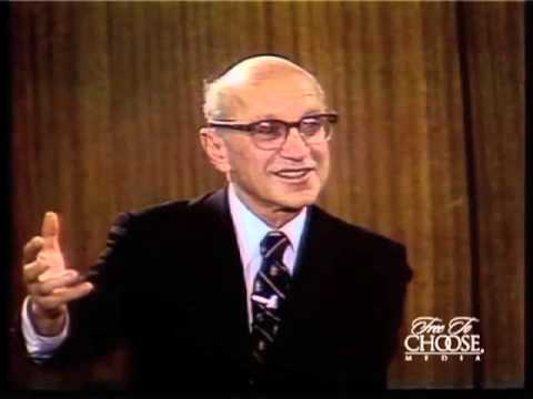 Milton Friedman On Monopolies & Antitrust