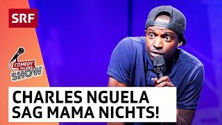 Charles Nguela: Das Spiel mit der Nagelpistole | Comedy Talent Show mit Lisa Christ | SRF Comedy