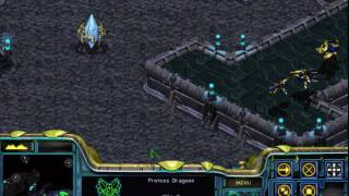 Starcraft Brood War:  Protoss:  Mission 7 Part 4