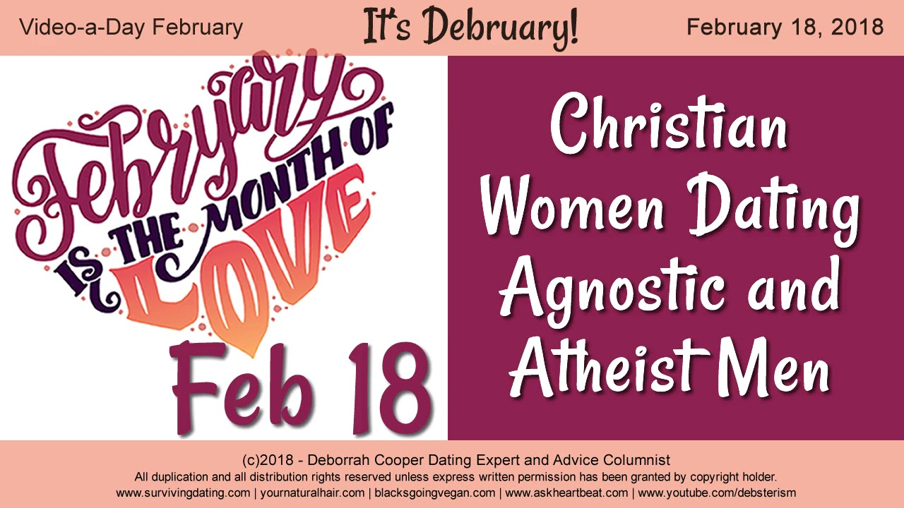 Christian dating a atheist