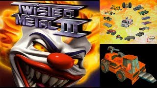 TWISTED METAL 3 PS1! AUGER GAMEPLAY MAS ENDING