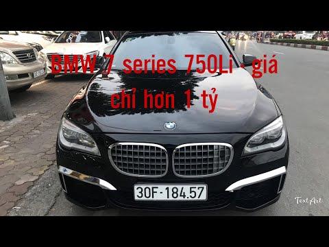 🌟 CHI TIẾT VÀ BÁO GIÁ BMW 7SERIES 750Li - GIÁ CHỈ HƠN 1 TỶ 🌟