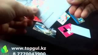 видео визитка с флешкой
