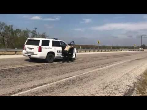 Exclusive Video Shows End of Texas Church Shooter Pursuit (3 min version)