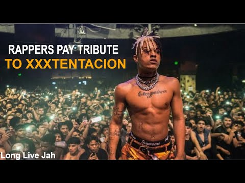 Rappers Pay Respect to XXXTentacion During Concerts Ft 6ix9ine Lil Pump Ski Mask Trippie Redd