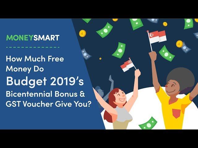 GST Voucher 2019 & U-Save – How Much Will You Get & When?