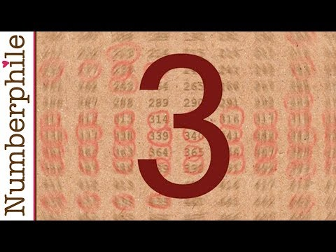 3 is everywhere - Numberphile