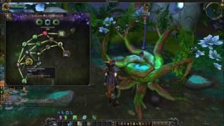 World of Warcraft Legion Bonsai Druide und Sentinel Owl