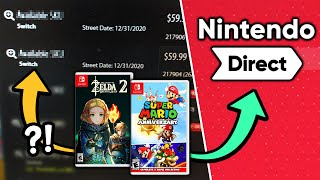 Multiple Unannounced Switch Games Discovered! Nintendo Direct Coming Soon?! [Rumor]