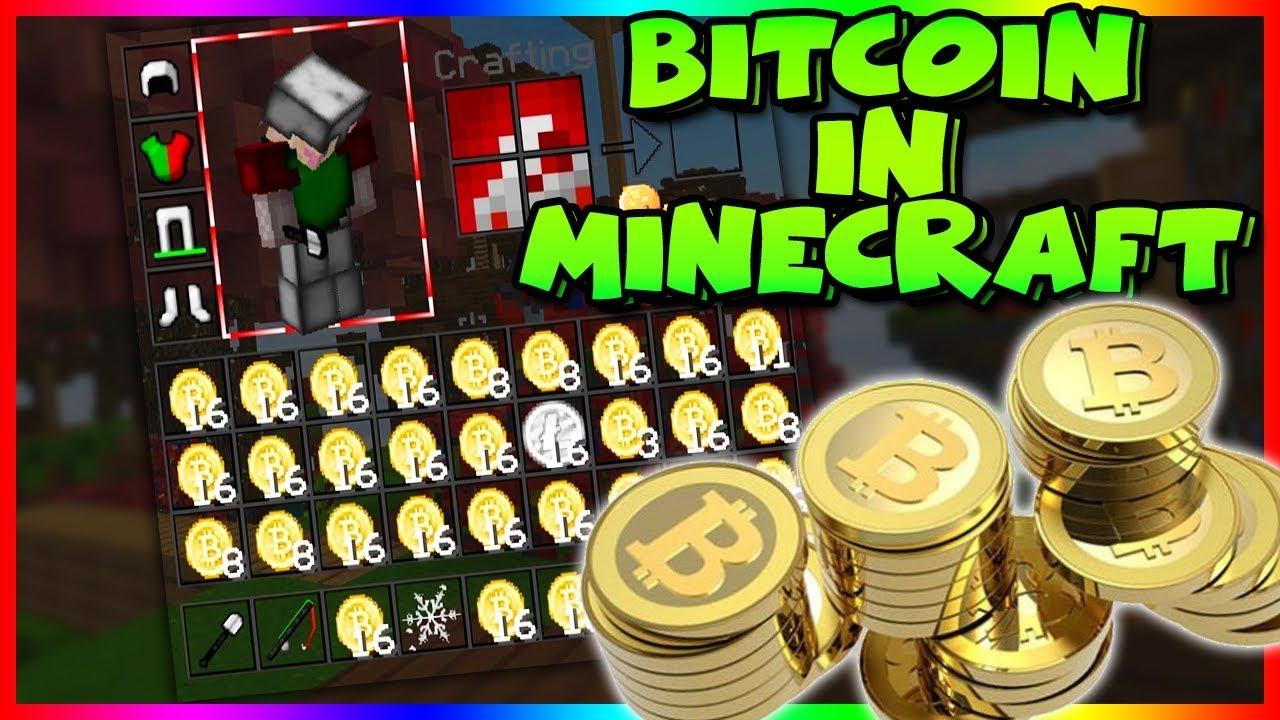 minecraft bitcoin mining