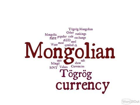 Mongolian Currency - Tögrög