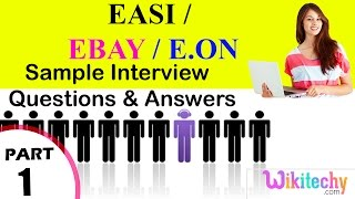 easi   ebay   e on top most interview questions and answers for freshers experienced