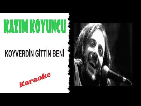 Kazım Koyuncu - Koyverdin Gittin Beni (Karaoke) Akustik