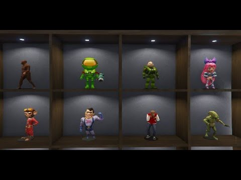 GTA Online : All 8 Action Figures Unlocks & Impotent Rage Outfit. from YouTube · Duration:  1 minutes 37 seconds