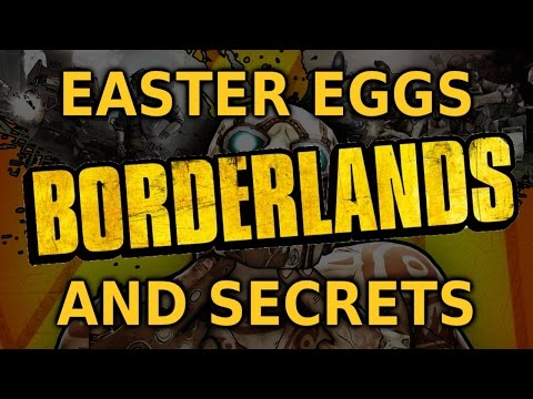 Borderlands All Easter Eggs And Secrets HD