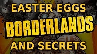 Borderlands All Easter Eggs And Secrets HD