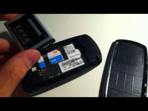 AT&T Samsung SGH-A137 Blue Metallic Flip Cell Phone Review
