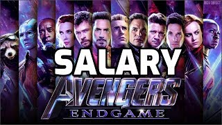 AVENGERS ENDGAME : Actors Salary  |Marvel Superhero Movie HD |Marvel Studios