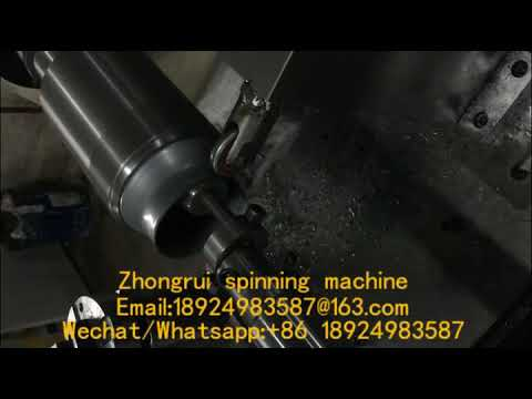 CNC metal spinning machine produce kettle