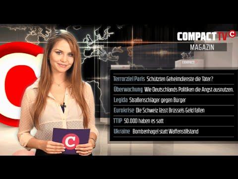 COMPACT TV Magazin: Hebdo-Anschlag, Legida, Euroverfall & Krieg im Donbass