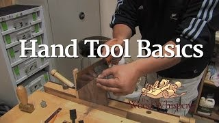 44 - Hand Tool Basics With Kaleo Kala
