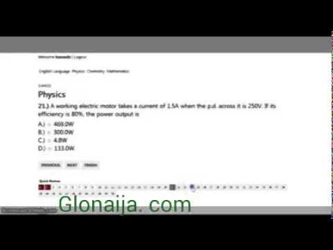 Official JAMB CBT TUTORIAL Practice |GLonaija. com