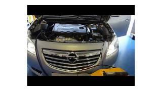 Opel Insigna fumée excessive diagnostiqué.