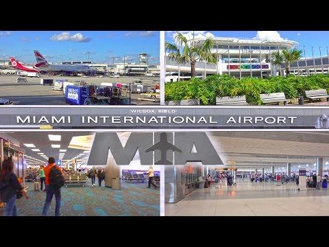 MIAMI INTERNATIONAL AIRPORT ( MIA ) - MIAMI 4K