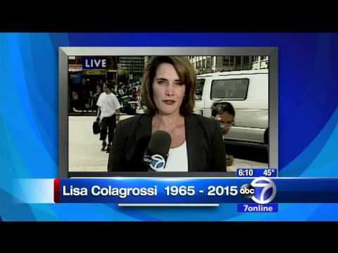 Lisa Colagrossi - RIP - Tribute From ABC7 Eyewitness Noon At Six - 3.21.15